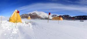 Camp at Otway Massif, 85 degrees south