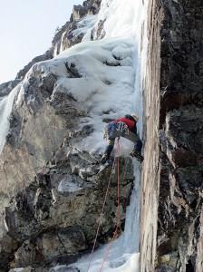 Ice climbing New England 1 photo by Jayson Nissen